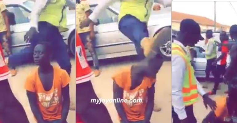 City Guard Brutally Assaults Young Man Video Goes Viral