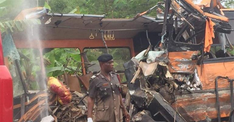 Black Friday: Another Deadly Crash On Mankesim-Accra Highway