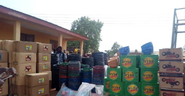 Chereponi Victims Get Relief Items