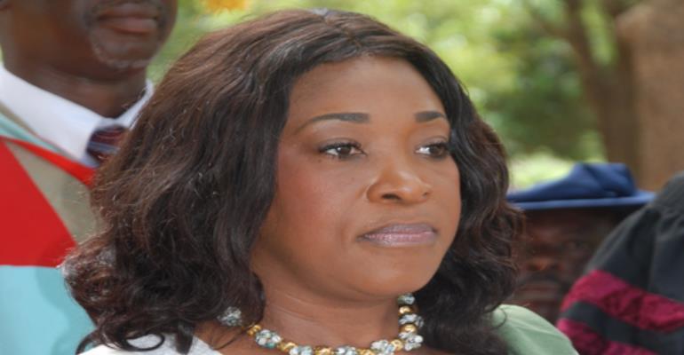 Foreign Affairs minister Shirley Ayorkor Botchwey