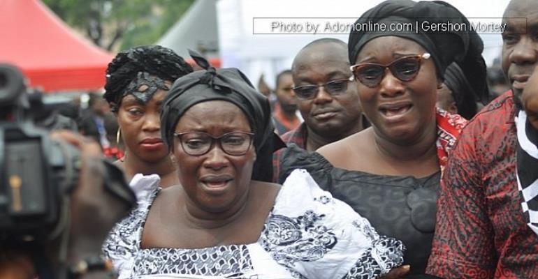 Sad Photos: Political Leaders, Celebrities, Pastors, General Public Bid Farewell To Ebony