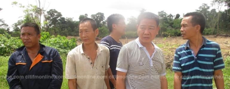 Police arrest Chinese illegal miners on Ankobra River