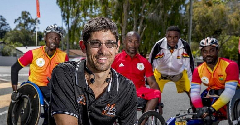 Spencer Supports Ghana Cycling Team At 2018 Commonwealth
