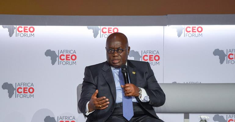 President Akufo-Addo At Africa CEO Forum: \'Respect The Rules!\'