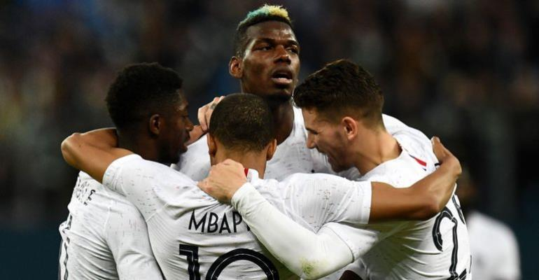 Pogba, Mbappe On Target As France Punish Russia 3-1 At Home