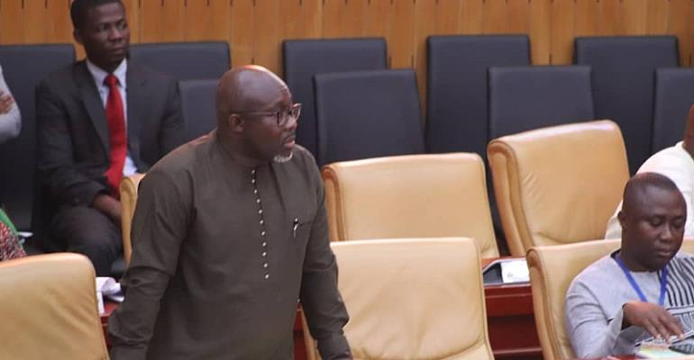 George Andah Hits Floor Of Parliament To Demand Answers On Landing Wharf