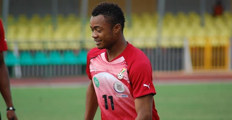 STUNNING!: Jordan Ayew Claims He Wanted To Be A Formula 1 Driver Growing Up