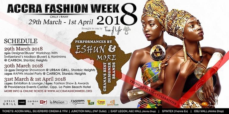 Two Major Brands, MAC Cosmetics, Zylon Media To Sponsor Accra Fashion Week