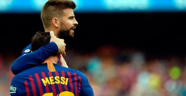 Pique: Messi Is One Of The Biggest Trolls I Know