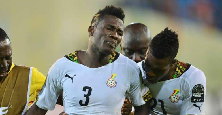 Asamoah Gyan Hoping To Stay Fit Ahead Of 2019 AFCON