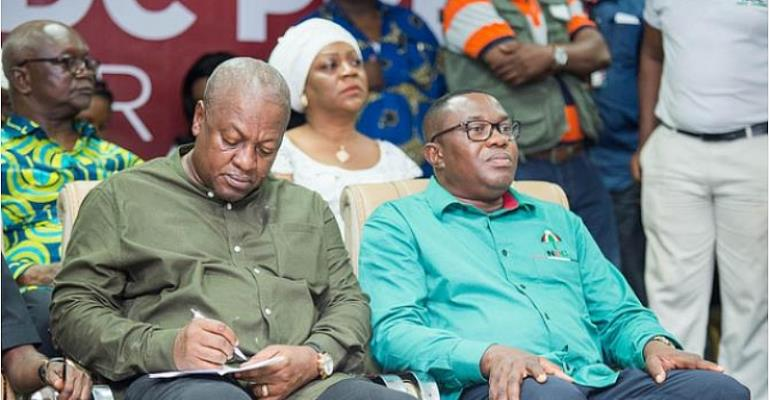 Did Bagbin Really Accuse Mahama's Administration Of Perpetrating Wanton Corruption?