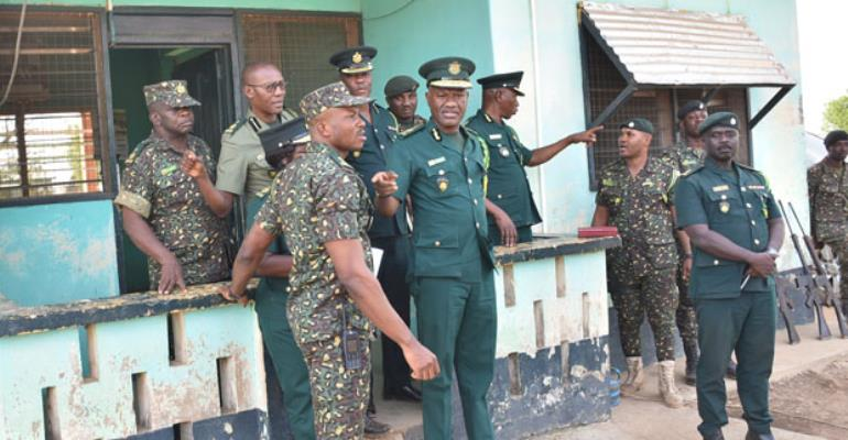 The Comptroller-General and one of the posts in the Northern Region