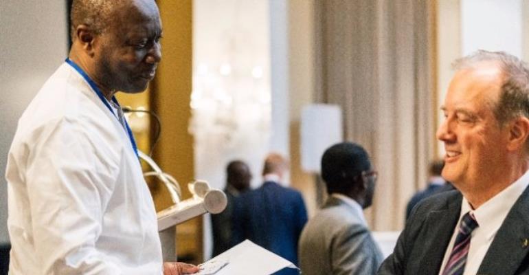 Finance minister Ken Ofori-Atta meets IMF officials