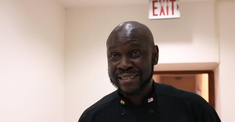 Ghanaian Executive Chef, Francis Otoo