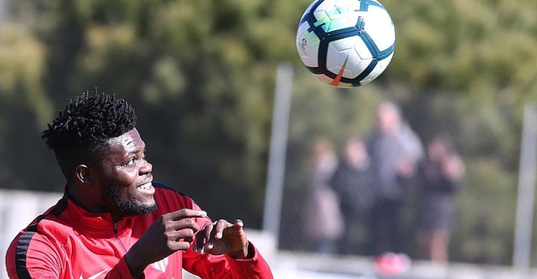 Thomas Partey Included In Atletico Madrid's Squad To Face Deportivo La Coruna