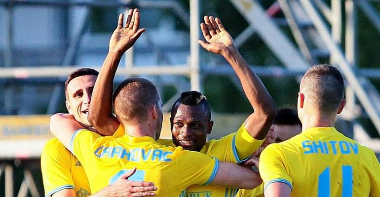 Patrick Twumasi Scores For Astana FC In Win Over Kaiser Kyzylorda