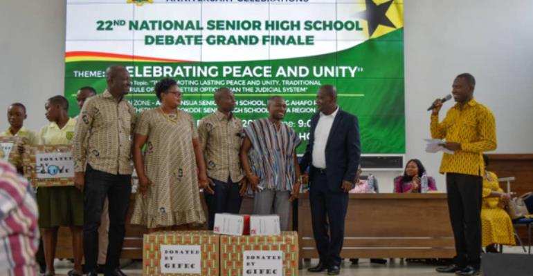 Journey To The Top: Sokode Senior High Technical School Wins The 22nd Inter Senior High School Debate