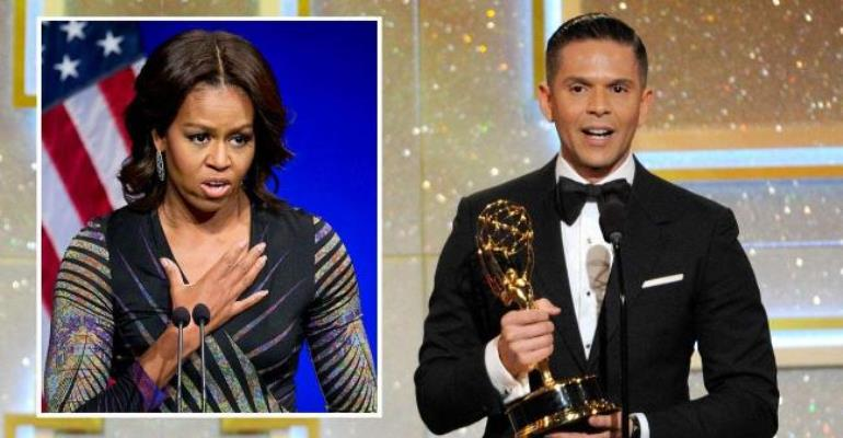 TV Host Fired After Michelle Obama-Monkey Comparison