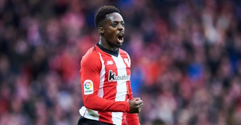 Inaki Williams Makes 150th La Liga Appearance For Athletic Bilbao