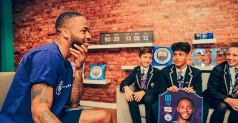 Raheem Sterling Gives 500 Children A Dream Day At Wembley