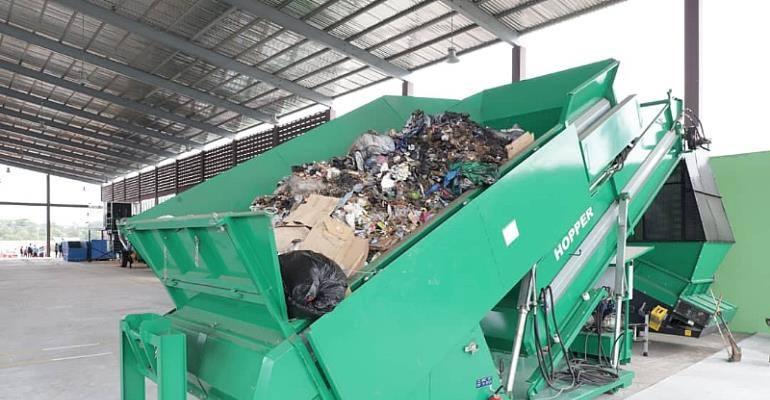 Zoomlion Unveils Integrated Recycling And Compost Plant