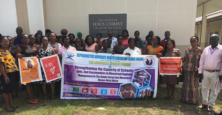 RAHE Ghana Advocates For Reusable Pads For Adolescent Girls