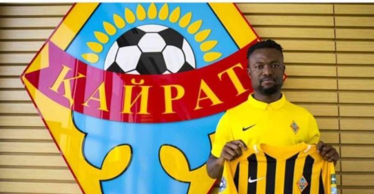 Gideon Baah Complete FC Kairat Almaty Move
