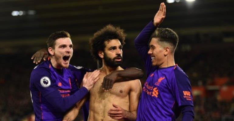 Salah Ends Drought As Liverpool Go Top