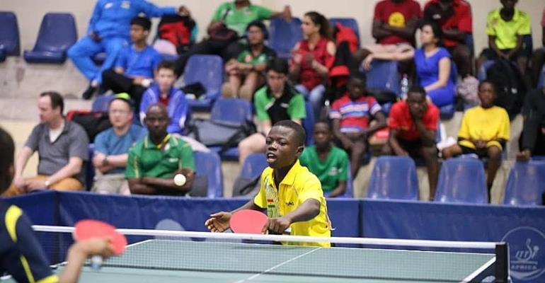 Coach Whyte Hails Ibrahim Gado For Winning Ghana's Only Gold At World Cadets Table Tennis Open