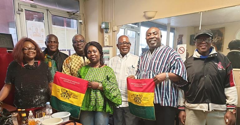 Ghana Celebrated in France