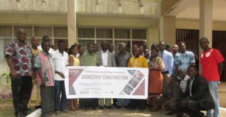 ECREE trains artisans on cook stoves construction