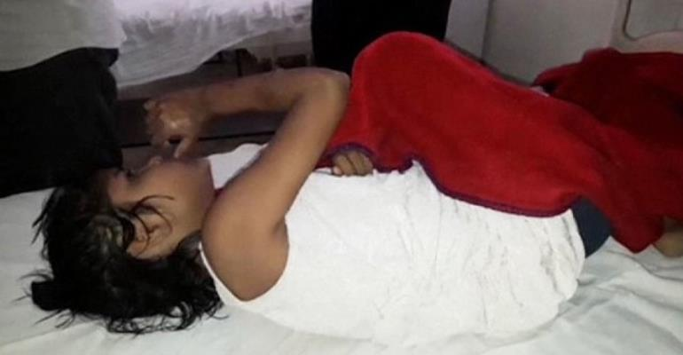 Girl found living with monkeys in Indian jungle