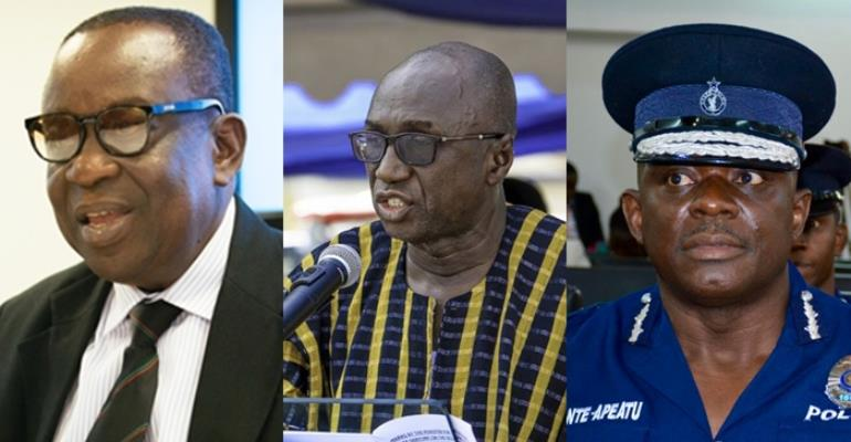 Fire Kan Dapaah, Dery and the IGP [Article]