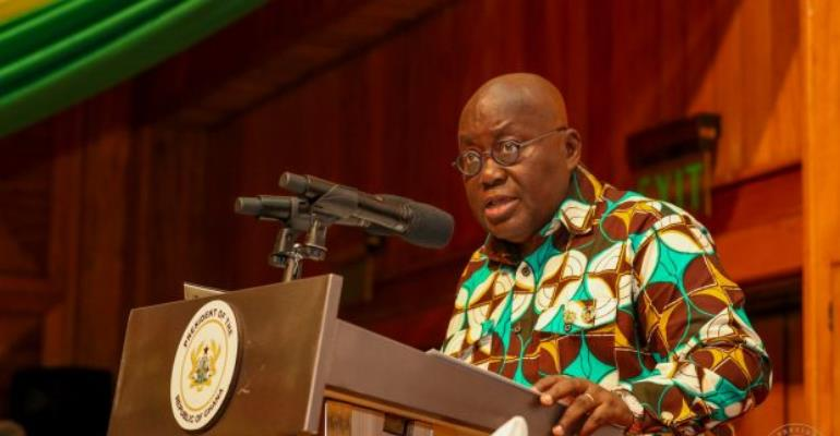 President Nana Akufo-Addo delivered an address to the nation last night
