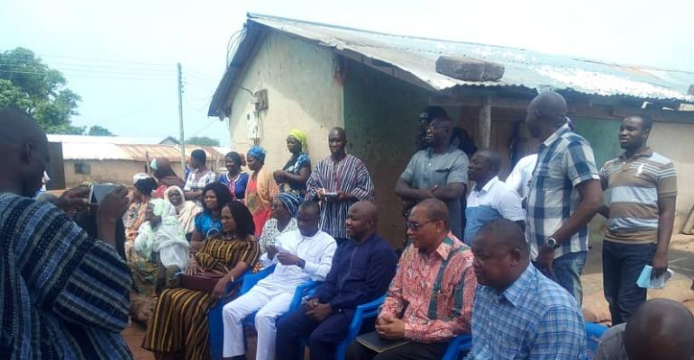 Savannah Region: Minister Meets Chiefs And People Of Canteen