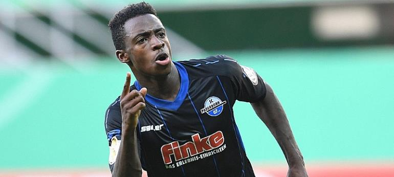 Number One Paderborn antwi adjei fires brace kwame yeboah hits one as paderborn thump