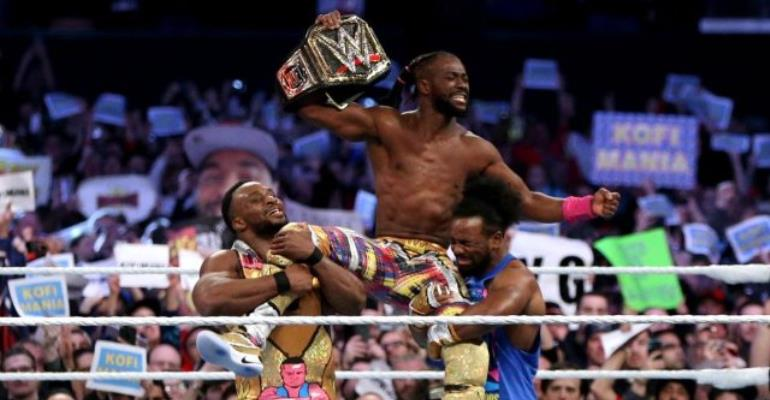 Kofi Kingston Wins The WWE Championship At WrestleMania 35