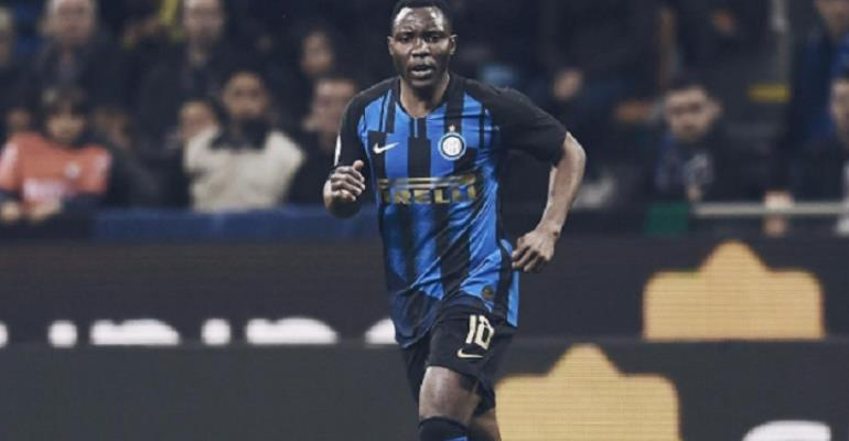 'Playing At Inter Milan Has Made Me A Better Player '– Kwadwo Asamoah