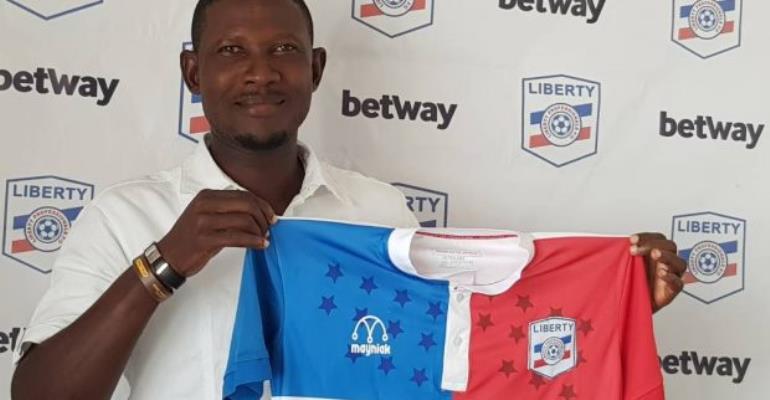 Liberty Professionals Head Coach Reginald Asante