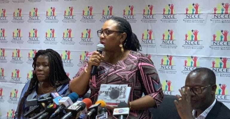 Josephine Nkrumah is the chairperson of the National Commission for Civic Education.