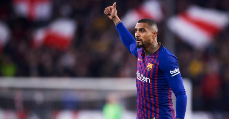 KP Boateng Included In Barcelona Squad To Face Man Utd In UCL