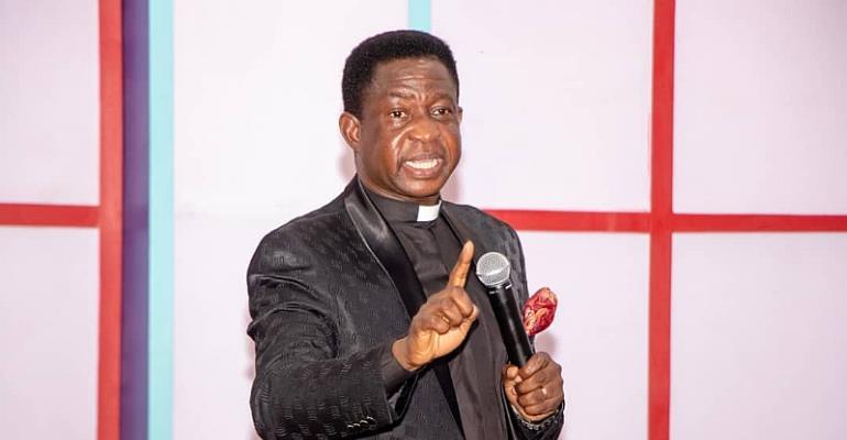 Apostle Dr. S.K Amoani, immediate past Chairman of CACI