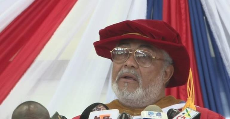 Former President Rawlings says he has a principle of not having state facilities named after him.