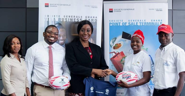 Societe Generale And Ghana Rugby To Build Character In Ghana Together