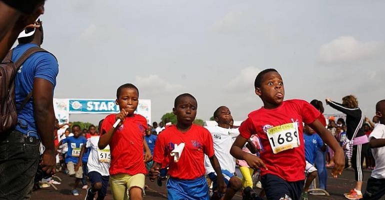 Omo Kiddy Mile Race (Mini Olympics) On Saturday @ El Wak Stadium
