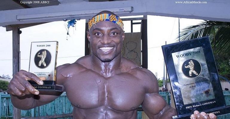 Ghanaian Bodybuilding Supremo Claims He Can Beat W. W. E Showboy John Cena To Pulp