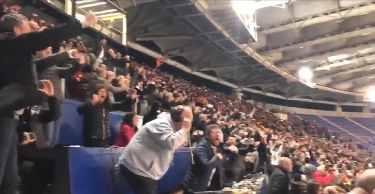 Crazy Reactions From Press Box After Roma Crashed Out Barcelona