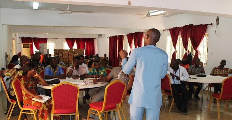 Afadzato South Education Directorate Holds Maiden Financial Review Meeting For Management Of 2nd Cycle Institutions