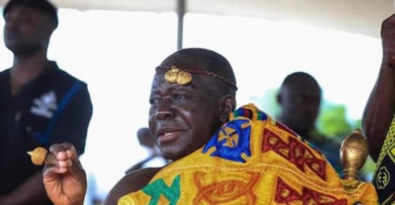 Asantehene Touts Himself As Ghana's Peace Maker