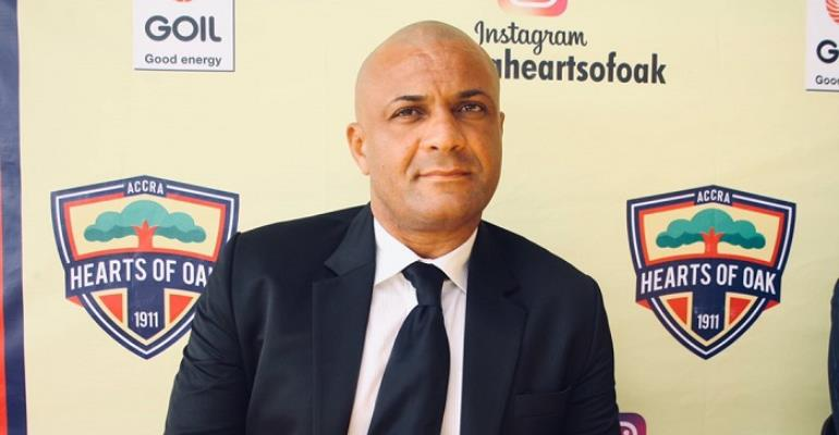 Kim Grant Lauds Hearts of Oak Players Display Against Dreams FC